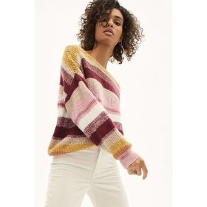 Sanctuary Blur The Lines Sweater Oversized Wool M